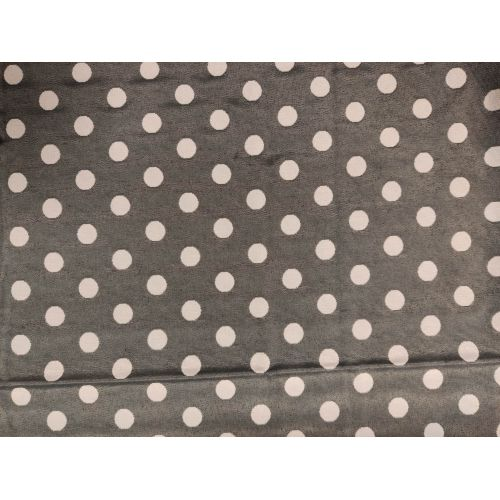 Coupon Pois Jacquard 1m